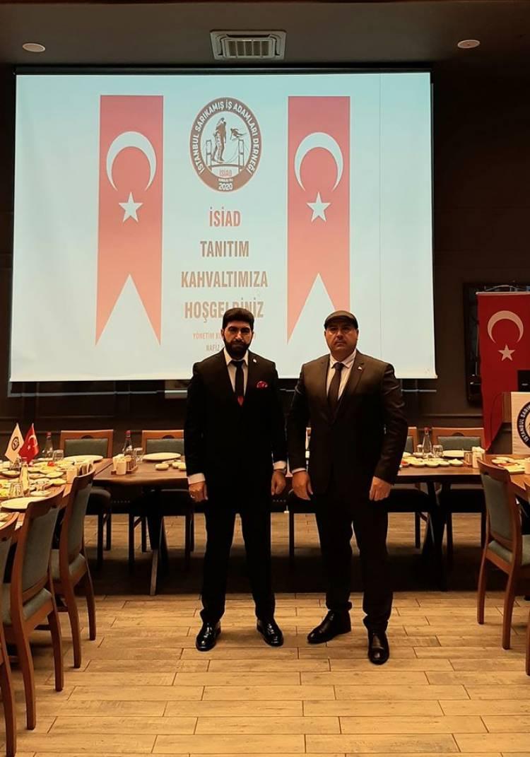 İSİAD İstanbul Sarıkamış İş Adamları Derneği Kuruldu: