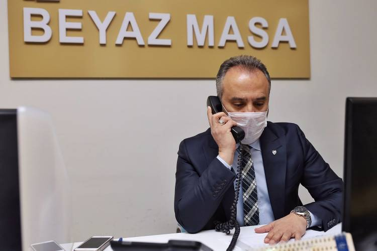 Kötü gün Dostu Bursa Büyükşehir