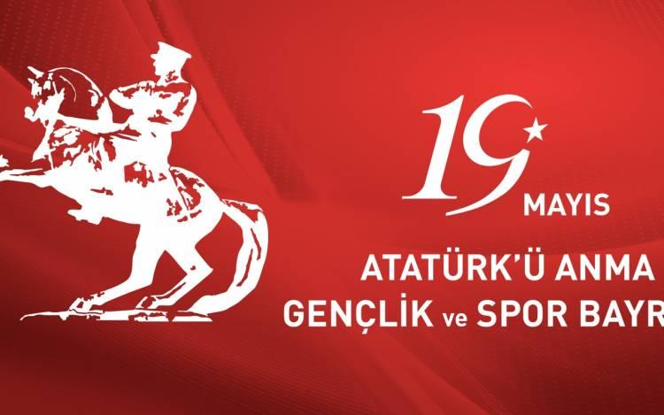19.Mayıs Gençlik ve Spor Bayramı Kutlu olsun