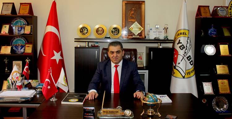 Y.B.B.D Genel Başkanı Nezir Karayün  24. Temmuz Basın Bayramın'da Anlamlı Mesaj..