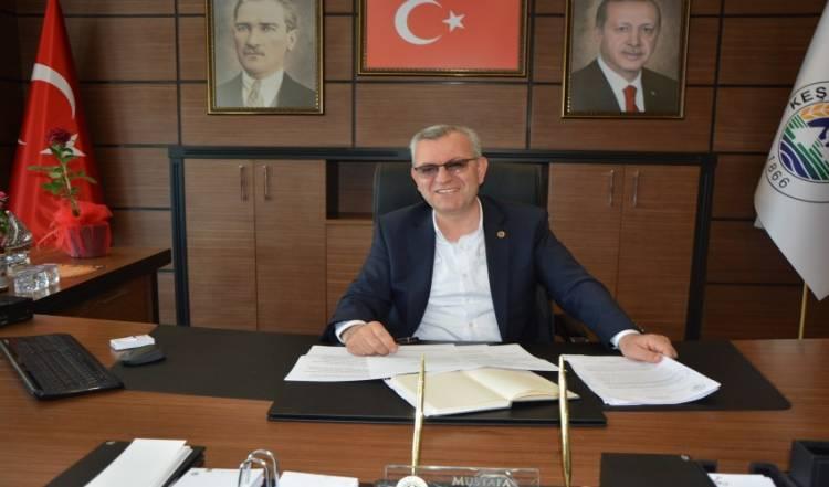 Keşan Belediye Başkanı Mustafa Helvacıoğlu, 10 Ocak Çalışan Gazeteciler Günü'nü Unutmadı