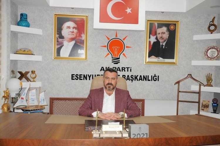"""ÖZER : """"Esenyurt Halkı,  Ak Parti Belediyeciliğini ."""" Özlüyor  dedi."""